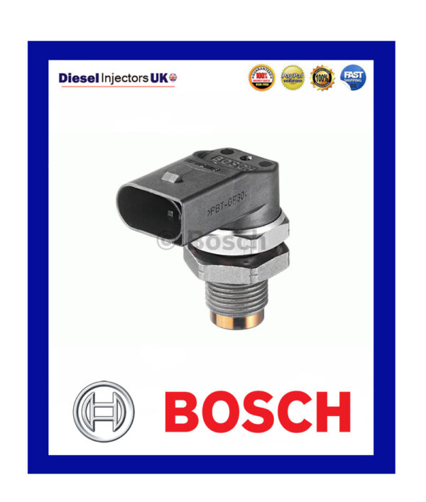 GENUINE BOSCH FUEL PRESSURE SENSOR 0281002497 BMW 3 5 6 7 SERIES X3 X5 X6