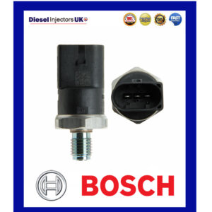 GENUINE BOSCH FUEL PRESSURE SENSOR 0281002498 AUDI VW MERCEDES SMART