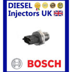 GENUINE BOSCH FUEL PRESSURE SENSOR 0281002850 FIAT IVECO OPEL MAN NEW HOLLAN 1