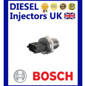 GENUINE BOSCH FUEL PRESSURE SENSOR 0281002850 FIAT IVECO OPEL MAN NEW HOLLAN