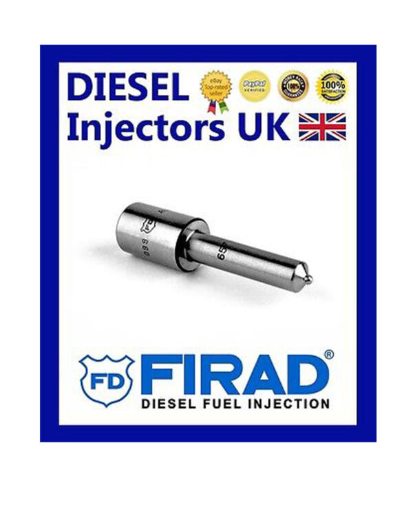 NEW GENUINE FIRAD SET OF 4 NOZZLES DLLA150P235, 0433171193 IVECO DAILY