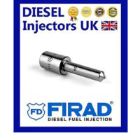 GENUINE FIRAD SET OF 4 NOZZLES M1600P FOR VDO INJECTOR FOR USE IN FORD RANGER 150